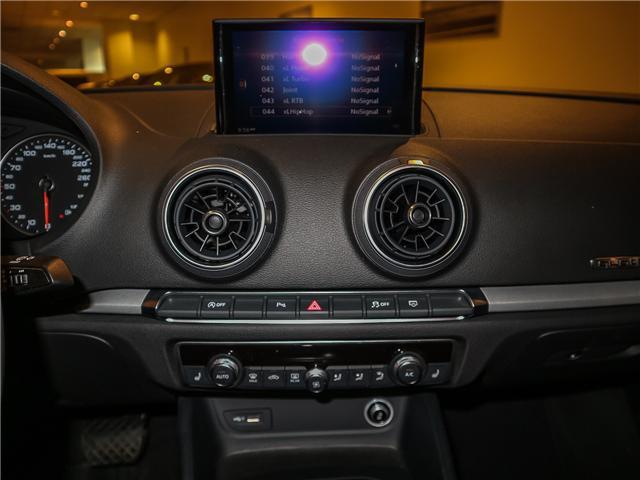 2018 Audi A3 2.0T Komfort (Stk: P3007) in Toronto - Image 17 of 27