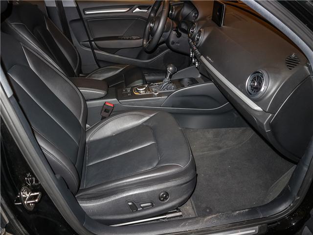 2018 Audi A3 2.0T Komfort (Stk: P3007) in Toronto - Image 19 of 27