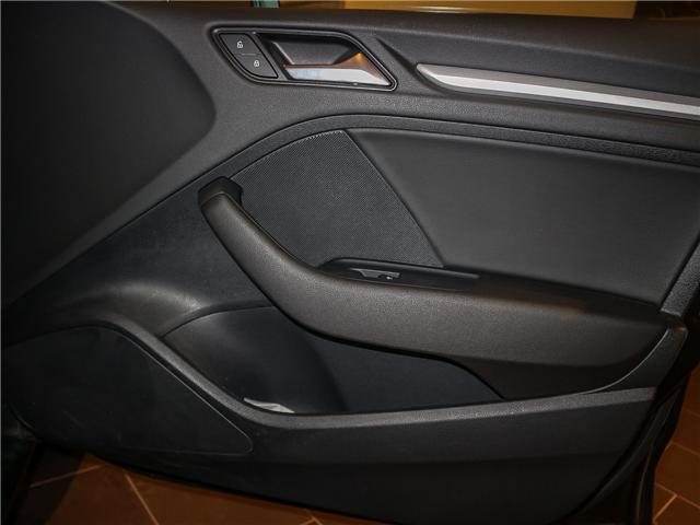 2018 Audi A3 2.0T Komfort (Stk: P3007) in Toronto - Image 20 of 27