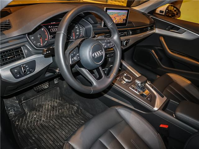 2017 Audi A4 2.0T Progressiv (Stk: P3045) in Toronto - Image 10 of 28