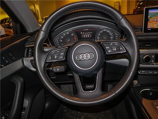 2017 Audi A4 2.0T Progressiv (Stk: P3045) in Toronto - Image 12 of 28