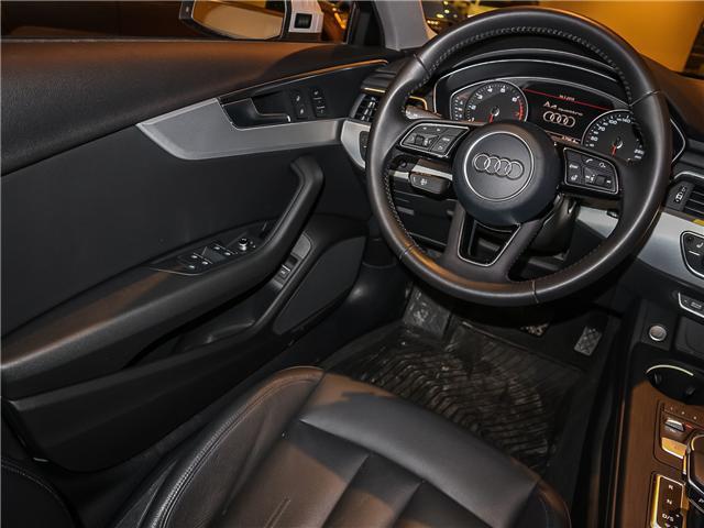 2017 Audi A4 2.0T Progressiv (Stk: P3045) in Toronto - Image 13 of 28