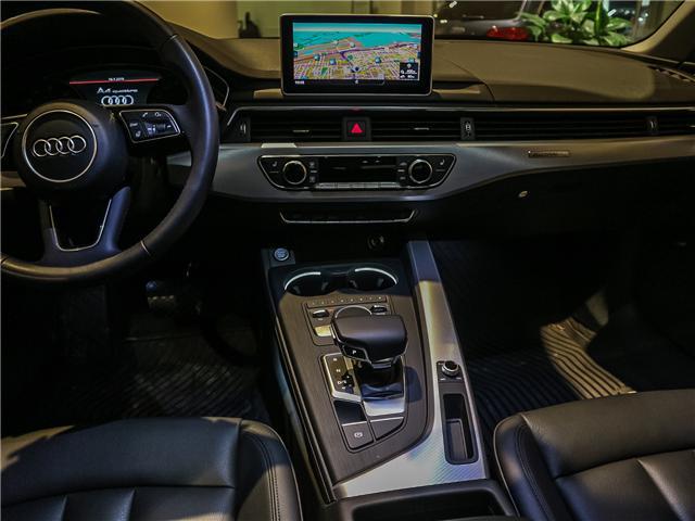 2017 Audi A4 2.0T Progressiv (Stk: P3045) in Toronto - Image 14 of 28