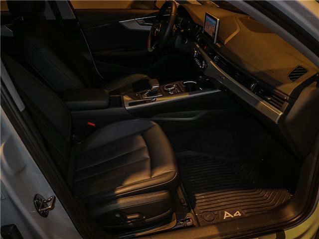 2017 Audi A4 2.0T Progressiv (Stk: P3045) in Toronto - Image 19 of 28