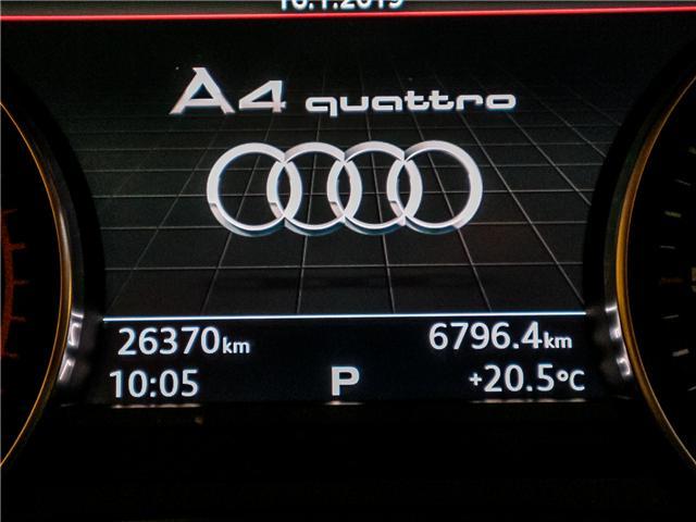 2017 Audi A4 2.0T Progressiv (Stk: P3045) in Toronto - Image 27 of 28