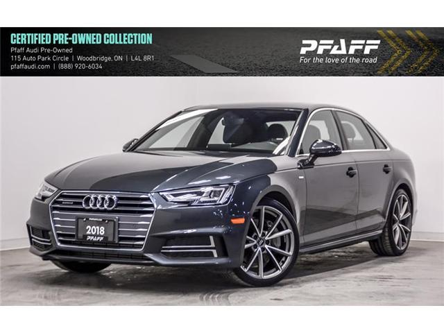 2018 Audi A4 2.0T Progressiv (Stk: C6469) in Woodbridge - Image 1 of 22