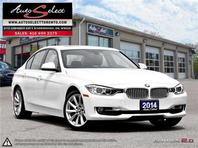 2014 BMW 320i xDrive (Stk: 1NP81662) in Scarborough - Image 1 of 28