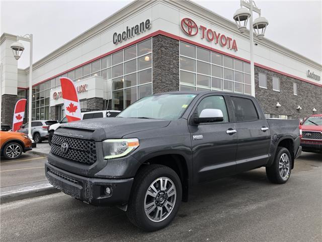 2019 Toyota Tundra Platinum 5.7L V8 (Stk: 190099) in Cochrane - Image 1 of 20