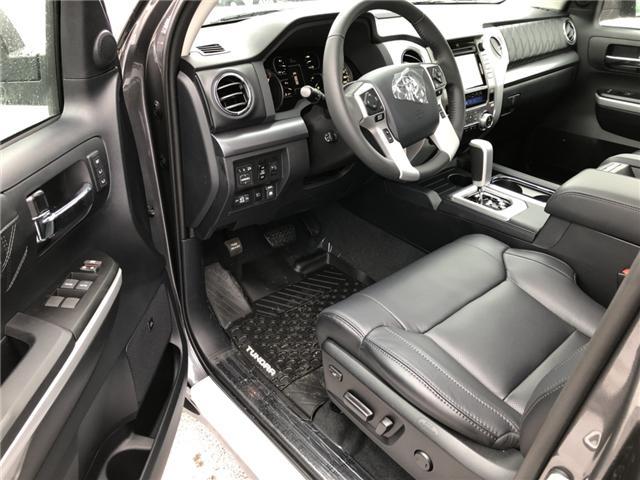 2019 Toyota Tundra Platinum 5.7L V8 (Stk: 190099) in Cochrane - Image 3 of 20