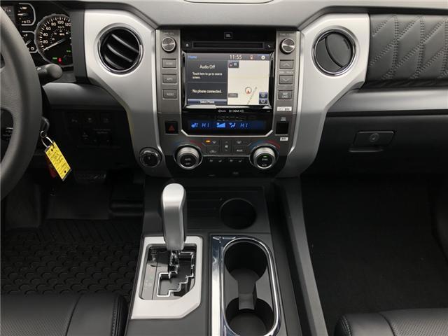 2019 Toyota Tundra Platinum 5.7L V8 (Stk: 190099) in Cochrane - Image 9 of 20