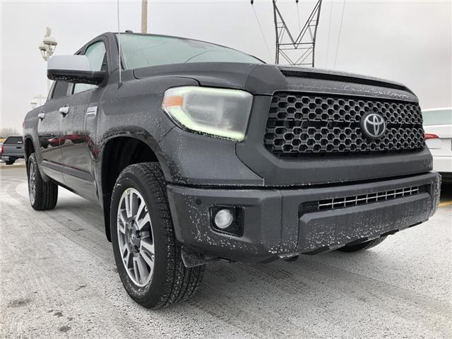 2019 Toyota Tundra Platinum 5.7L V8 (Stk: 190099) in Cochrane - Image 17 of 20