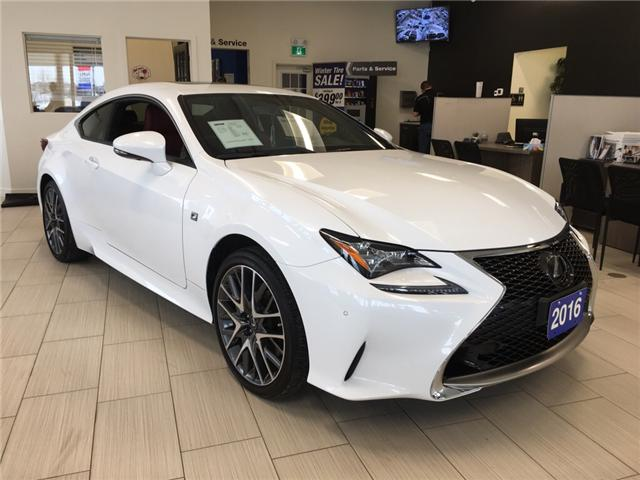 2016 Lexus RC 350 Base (Stk: 19025) in Sudbury - Image 1 of 17