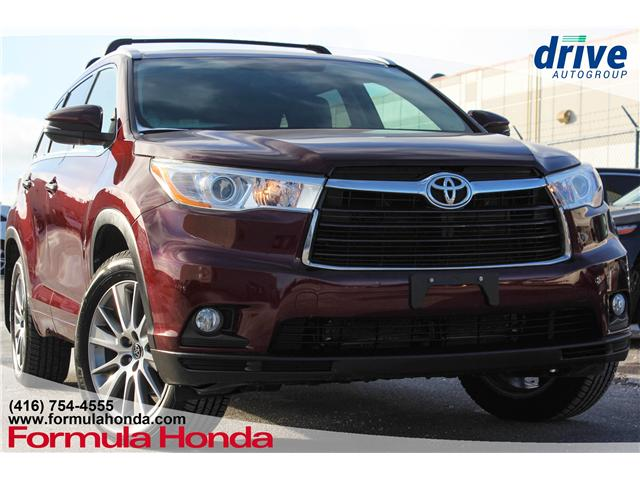 2016 Toyota Highlander XLE (Stk: B10894) in Scarborough - Image 1 of 30