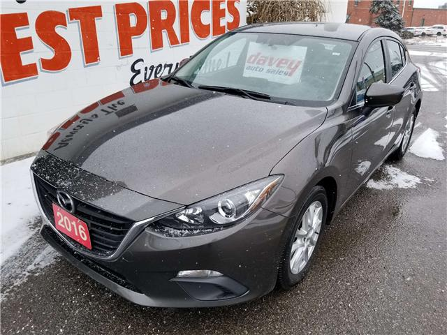 2016 Mazda Mazda3 GS (Stk: 19-028) in Oshawa - Image 1 of 15