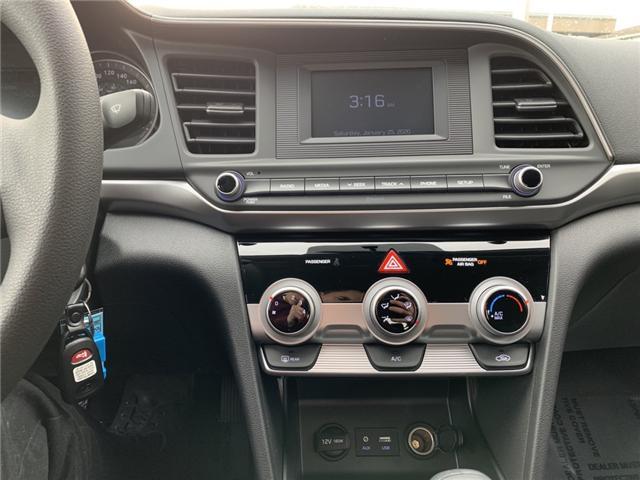 2019 Hyundai Elantra ESSENTIAL (Stk: H92-3983) in Chilliwack - Image 10 of 12