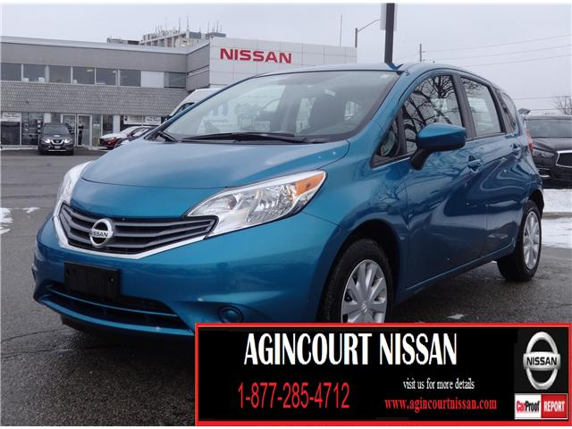 2016 Nissan Versa Note 1.6 SV (Stk: KL357352A) in Scarborough - Image 1 of 19
