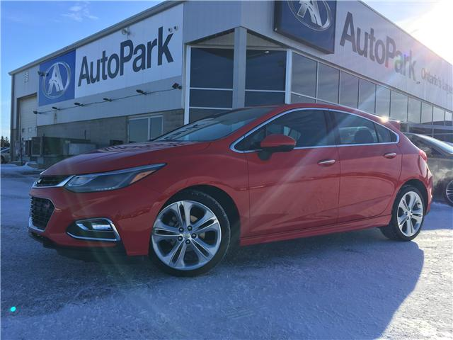 2018 Chevrolet Cruze Premier Auto (Stk: 18-85461RMB) in Barrie - Image 1 of 28