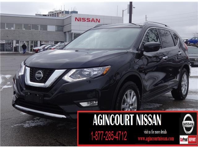 2018 Nissan Rogue SV (Stk: U12374R) in Scarborough - Image 1 of 23