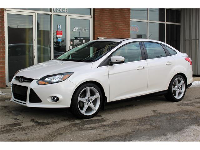 2012 Ford Focus Titanium (Stk: 397907) in Saskatoon - Image 1 of 23