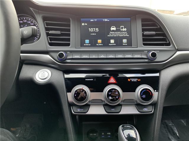 2019 Hyundai Elantra Preferred (Stk: H92-48060) in Chilliwack - Image 10 of 12