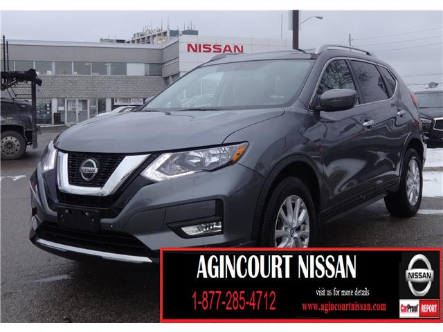2018 Nissan Rogue SV (Stk: U12375R) in Scarborough - Image 1 of 22