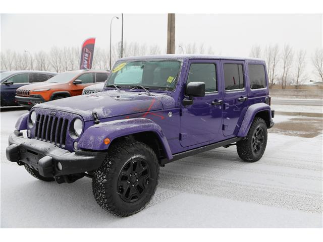 2016 Jeep Wrangler Unlimited Sahara (Stk: 171619) in Medicine Hat - Image 2 of 18