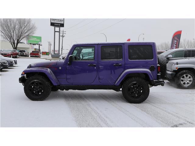 2016 Jeep Wrangler Unlimited Sahara (Stk: 171619) in Medicine Hat - Image 3 of 18