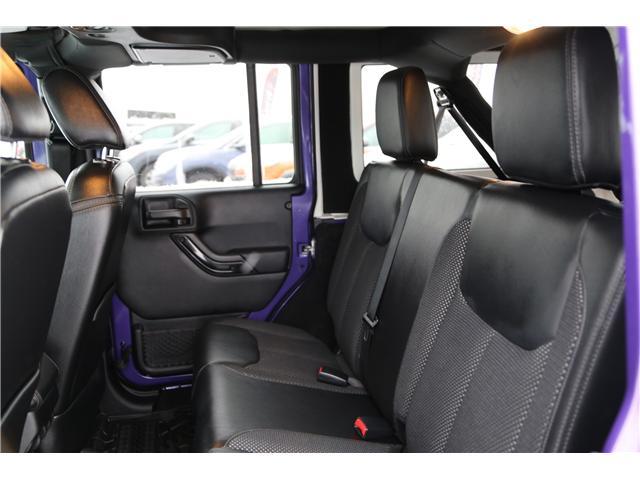 2016 Jeep Wrangler Unlimited Sahara (Stk: 171619) in Medicine Hat - Image 12 of 18