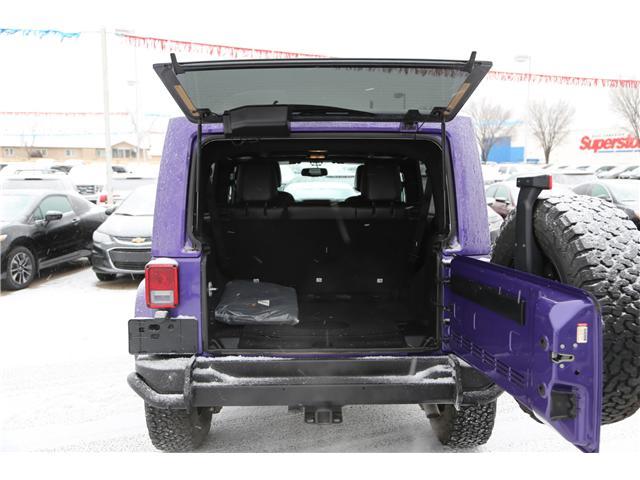 2016 Jeep Wrangler Unlimited Sahara (Stk: 171619) in Medicine Hat - Image 17 of 18
