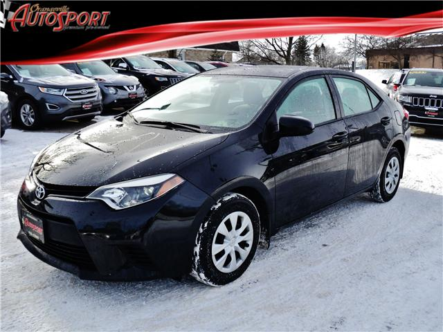 2015 Toyota Corolla CE (Stk: 1453) in Orangeville - Image 1 of 17