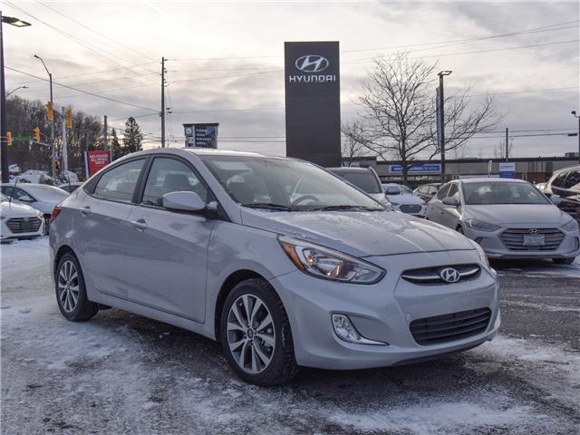 2017 Hyundai Accent GLS (Stk: SL76935) in Ottawa - Image 1 of 11