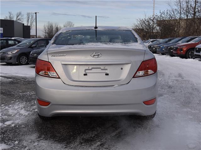 2017 Hyundai Accent GLS (Stk: SL76935) in Ottawa - Image 7 of 11