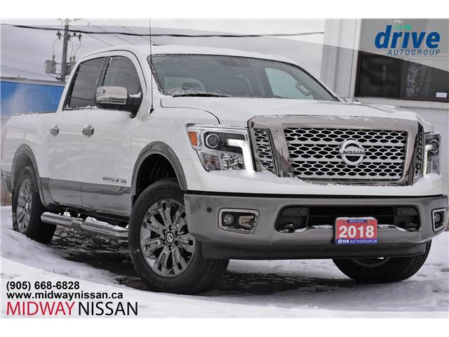 2018 Nissan Titan Platinum (Stk: JW342215A) in Whitby - Image 1 of 34