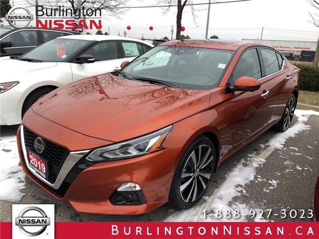2019 Nissan Altima 2.5 Platinum (Stk: Y5509) in Burlington - Image 1 of 5