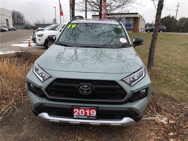 2019 Toyota RAV4 Trail (Stk: 198043) in Burlington - Image 2 of 5
