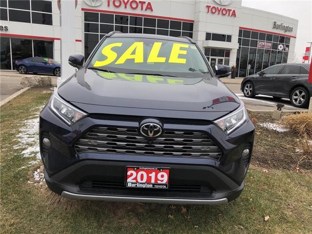 2019 Toyota RAV4 Limited (Stk: 198042) in Burlington - Image 2 of 5