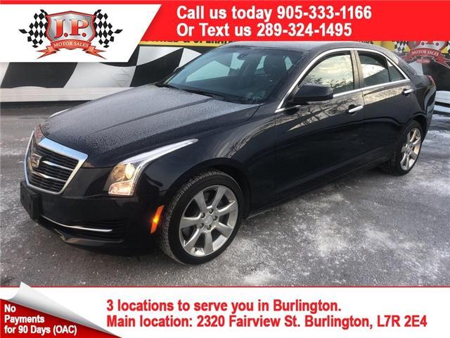 2015 Cadillac ATS 2.0L Turbo Luxury (Stk: 46160) in Burlington - Image 1 of 17