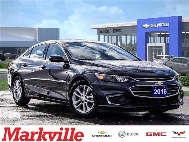 2016 Chevrolet Malibu NEW BODY STYLE-LT-GM CERTIFIED PRE-OWNED-1 OWNER (Stk: 402455B) in Markham - Image 1 of 25