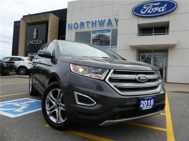 2016 Ford Edge Titanium AWD NAV PANO ROOF (Stk: EX80636A) in Brantford - Image 1 of 23