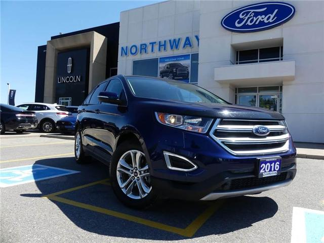 2016 Ford Edge SEL   NAV   REAR CAM   PANO ROOF   LEATHER   (Stk: F181171A) in Brantford - Image 2 of 25