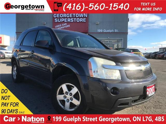 2007 Chevrolet Equinox LT| CLEAN CARFAX | AS IS | YOU CERTIFY YOU SAVE (Stk: ST19035A) in Georgetown - Image 1 of 25