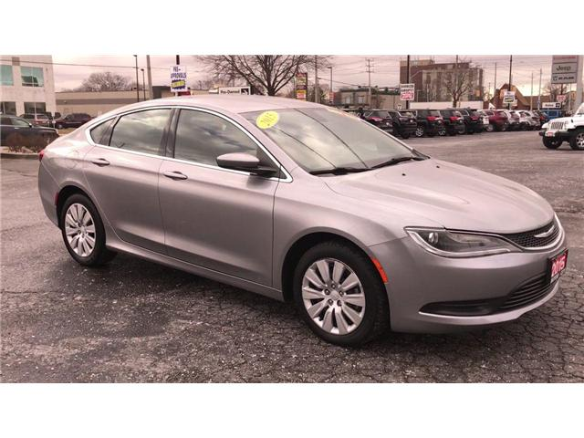 2015 Chrysler 200 LX (Stk: 44670) in Windsor - Image 2 of 11