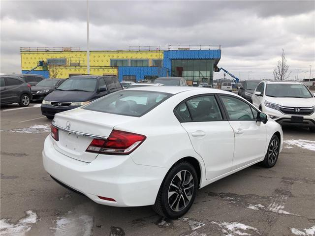 2015 Honda Civic EX (Stk: I190221A) in Mississauga - Image 7 of 19