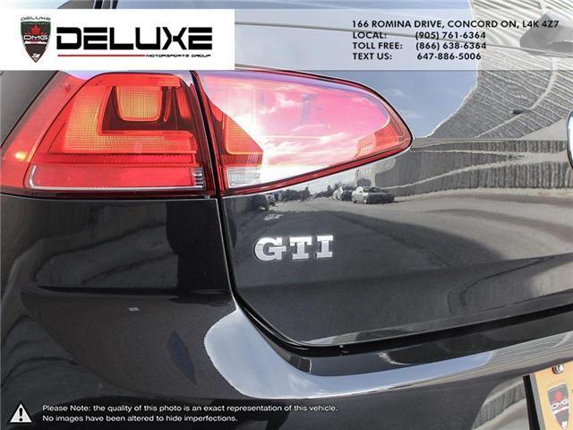 2017 Volkswagen Golf GTI 3-Door (Stk: D0520) in Concord - Image 5 of 17