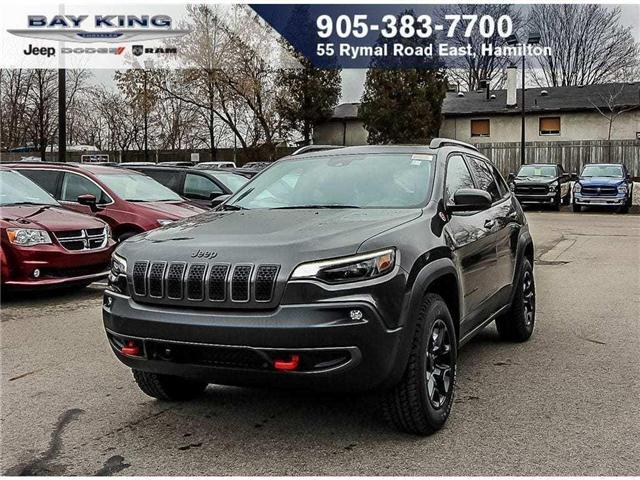2019 Jeep Cherokee Trailhawk (Stk: 197505) in Hamilton - Image 1 of 23