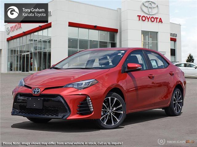 2019 Toyota Corolla SE Upgrade Package (Stk: 89207) in Ottawa - Image 1 of 23