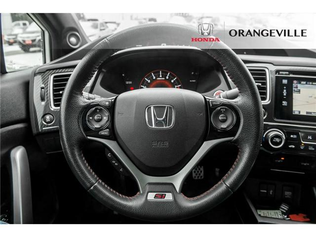 2015 Honda Civic Si (Stk: F19026A) in Orangeville - Image 9 of 20