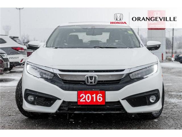 2016 Honda Civic Touring (Stk: F17326CDA) in Orangeville - Image 2 of 20