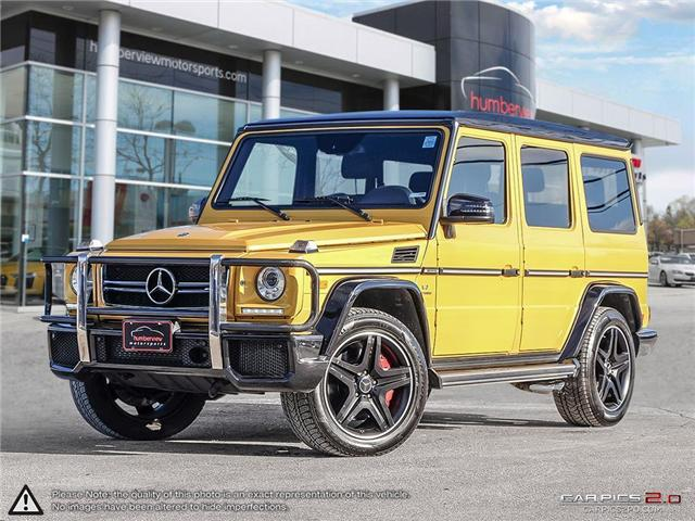 2015 Mercedes-Benz G-Class Base (Stk: 18MSX815A) in Mississauga - Image 1 of 30