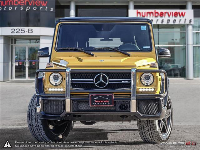 2015 Mercedes-Benz G-Class Base (Stk: 18MSX815A) in Mississauga - Image 2 of 30